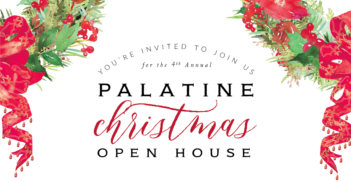 Christmas Open House.The Palatine Building Palatine Christmas Open House 2016